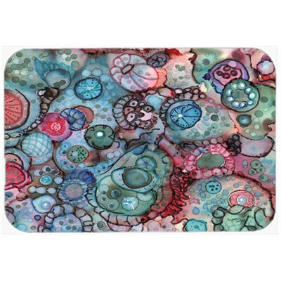 Abstract Kitchen/Bath Mat Size: 20 W x 30 L