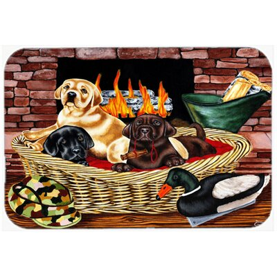 The Next Generation Labrador Kitchen/Bath Mat Size: 20