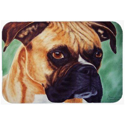 Boxer by Tanya and Craig Amberson Kitchen/Bath Mat Size: 20 W x 30 L