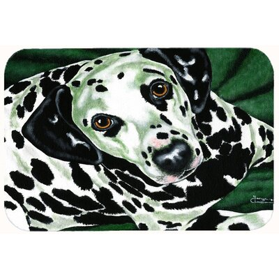 Emerald Beauty Dalmatian Kitchen/Bath Mat Size: 24 W x 36 L