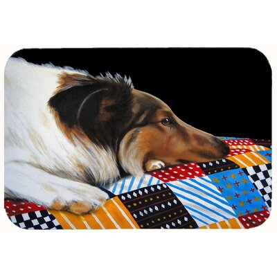Collie Kitchen/Bath Mat Size: 24 W x 36 L