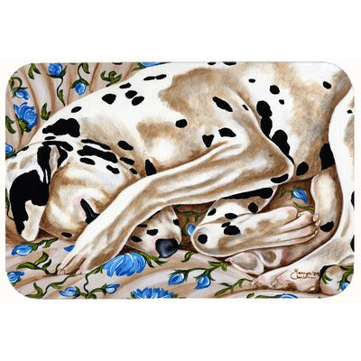 Bed of Roses Dalmatian Kitchen/Bath Mat Size: 24 W x 36 L