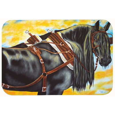 Days End Horse Kitchen/Bath Mat Size: 24 W x 36 L