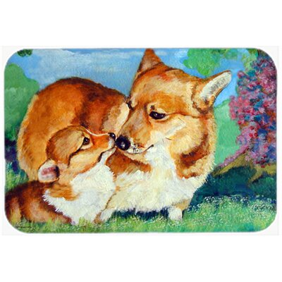 Corgi Mommas Love Kitchen/Bath Mat Size: 20 W x 30 L