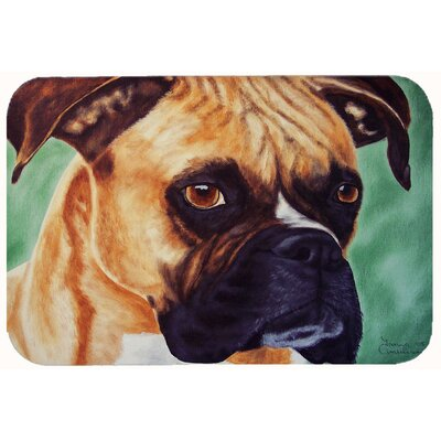 Boxer by Tanya and Craig Amberson Kitchen/Bath Mat Size: 24 W x 36 L