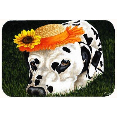 My Sun Spot Dalmatian Kitchen/Bath Mat Size: 24