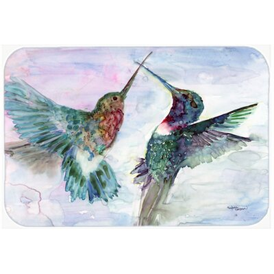 Hummingbird Combat Kitchen/Bath Mat Size: 20 W x 30 L