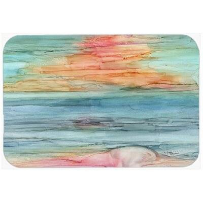 Abstract Rainbow Kitchen/Bath Mat Size: 20 W x 30 L