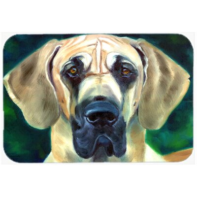 Great Dane Lookin at You Kitchen/Bath Mat Size: 20 W x 30 L