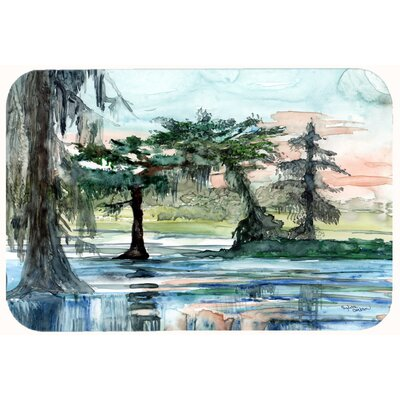 In the Swamp Kitchen/Bath Mat Size: 24 W x 36 L