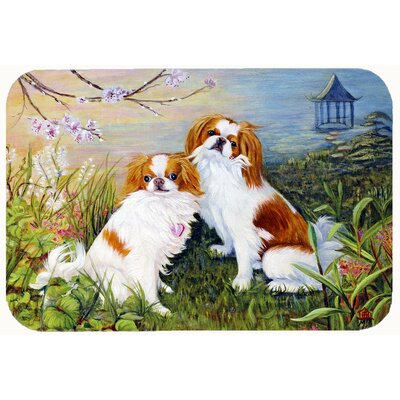 Japanese Chin Wasabi and Ginger Kitchen/Bath Mat Size: 20 W x 30 L