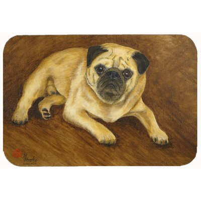 Pug Roscoe Kitchen/Bath Mat Size: 24 W x 36 L