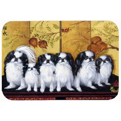 Japanese Chin Tea House Kitchen/Bath Mat Size: 24 W x 36 L