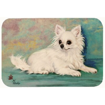 Chihuahua Queen Mother Kitchen/Bath Mat Size: 20 W x 30 L