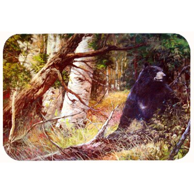 Are you there Mr. Bear Kitchen/Bath Mat Size: 20 W x 30 L