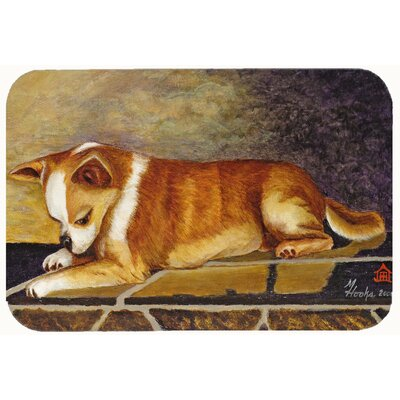 Chihuahua I See Me Kitchen/Bath Mat Size: 24 W x 36 L