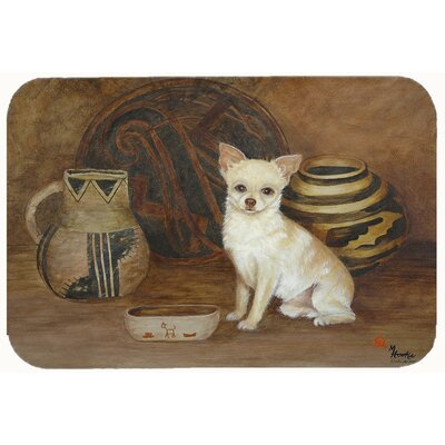 Chihuahua Ancient History Kitchen/Bath Mat Size: 20 W x 30 L