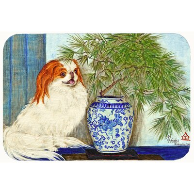 Japanese Chin Ming Vase Kitchen/Bath Mat Size: 24 W x 36 L