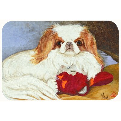 Japanese Chin Kitchen/Bath Mat Size: 20 W x 30 L