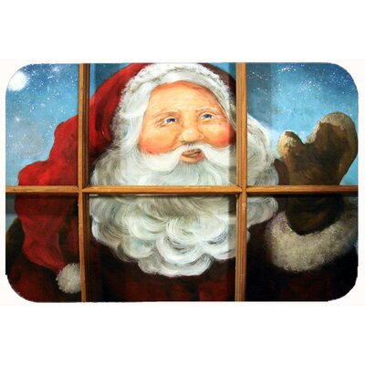 Santa Claus Kitchen/Bath Mat Size: 24 W x 36 L