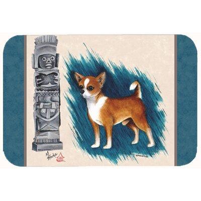 Chihuahua Totem Kitchen/Bath Mat Size: 24 W x 36 L