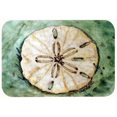Sending Sand Dollars Back to Sea Kitchen/Bath Mat Size: 24 W x 36 L