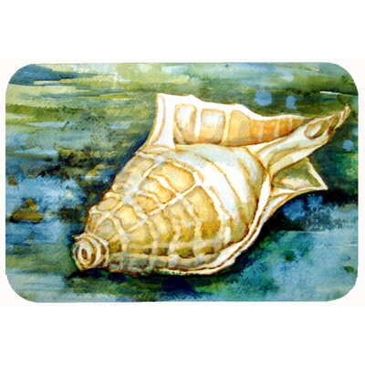 Newland Seashell Inspire Me Kitchen/Bath Mat Size: 24 W x 36 L