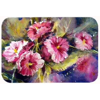 Showers Bring Spring Flowers Kitchen/Bath Mat Size: 24 W x 36 L