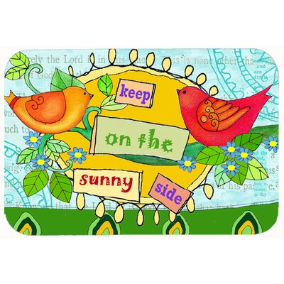 Keep on the Sunny Side Kitchen/Bath Mat Size: 24