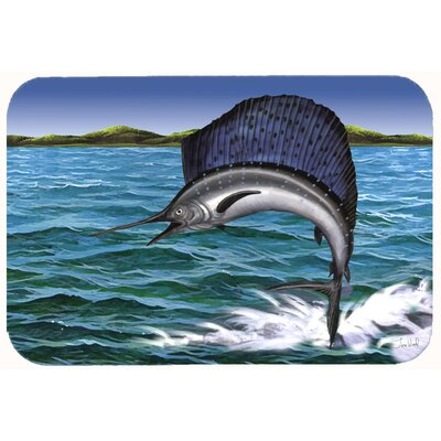 Marlin Kitchen/Bath Mat Size: 20 W x 30 L