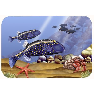 Undersea Fantasy 8 Kitchen/Bath Mat Size: 20 W x 30 L