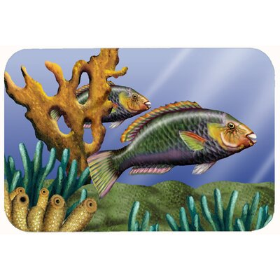 Undersea Fantasy 11 Kitchen/Bath Mat Size: 24 W x 36 L