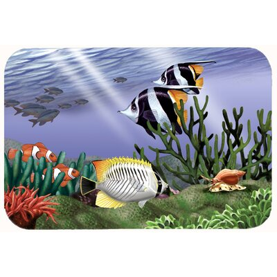 Undersea Fantasy 9 Kitchen/Bath Mat Size: 24 W x 36 L