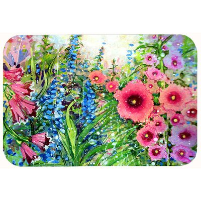 Herndon Garden Springtime Flowers Kitchen/Bath Mat Size: 24