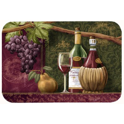 Wine Chateau Roma Kitchen/Bath Mat Size: 24 W x 36 L