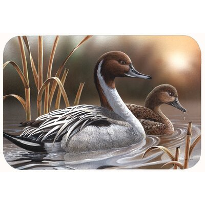 Pintails Kitchen/Bath Mat Size: 24 W x 36 L