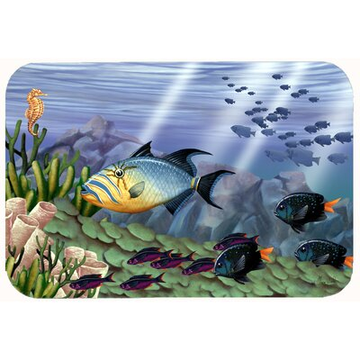 Undersea Fantasy 10 Kitchen/Bath Mat Size: 24 W x 36 L