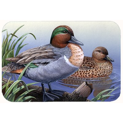 Ducks in the Water Kitchen/Bath Mat Size: 20 W x 30 L