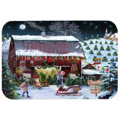 Christmas Tree Farm Kitchen/Bath Mat Size: 24 W x 36 L