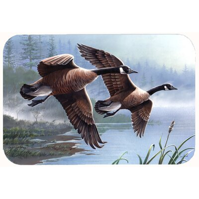 Geese on the Wing Kitchen/Bath Mat Size: 24 W x 36 L