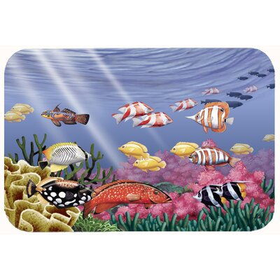 Undersea Fantasy 7 Kitchen/Bath Mat Size: 24 W x 36 L
