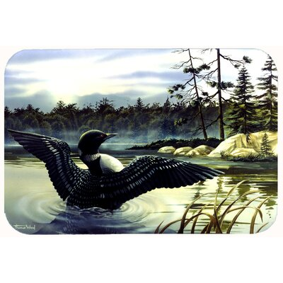 Loon Country Kitchen/Bath Mat Size: 24 W x 36 L