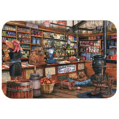 The Good Old Days Kitchen/Bath Mat Size: 24 W x 36 L