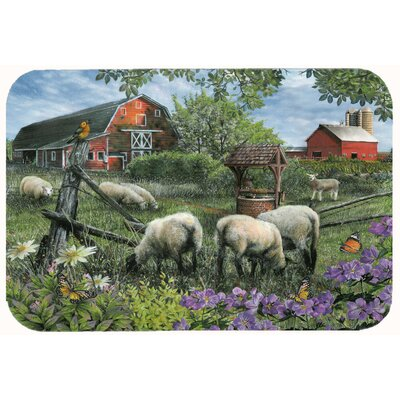 Pleasant Valley Sheep Farm Kitchen/Bath Mat Size: 24 W x 36 L
