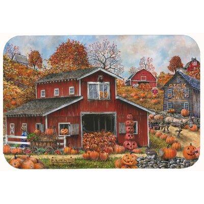 Pick Your Own Pumpkins Fall Kitchen/Bath Mat Size: 24 W x 36 L