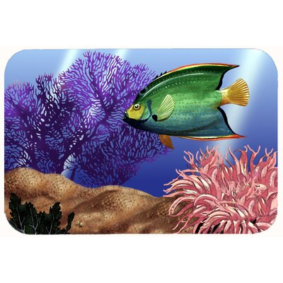 Undersea Fantasy 2 Kitchen/Bath Mat Size: 24 W x 36 L