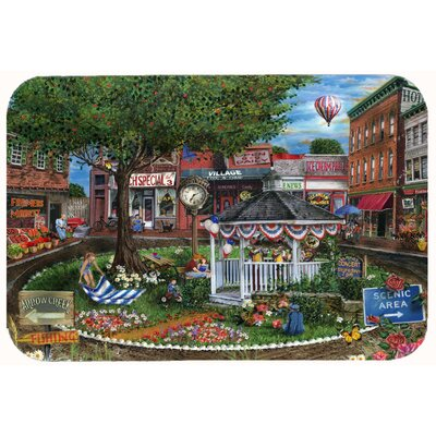 Summer Concert Series 4th of July Kitchen/Bath Mat Size: 24 W x 36 L