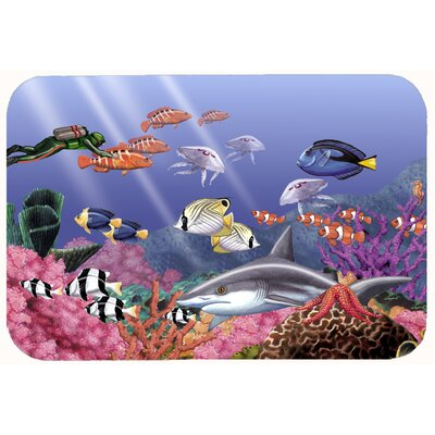 Undersea Fantasy 5 Kitchen/Bath Mat Size: 24 W x 36 L