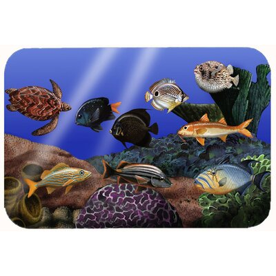 Undersea Fantasy 1 Kitchen/Bath Mat Size: 24 W x 36 L