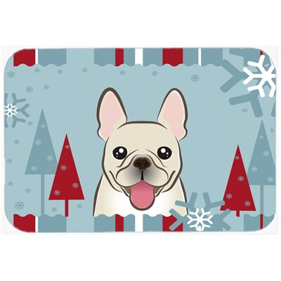 French Bulldog Kitchen/Bath Mat Size: 24 W x 36 L